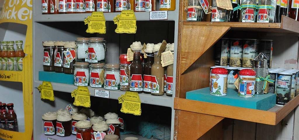 local spice selection at trellis bay market bvi