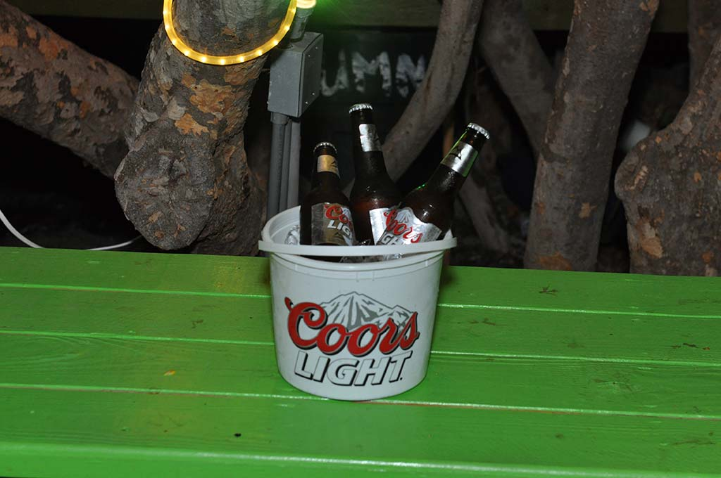 coors lights bucket british virgin islands