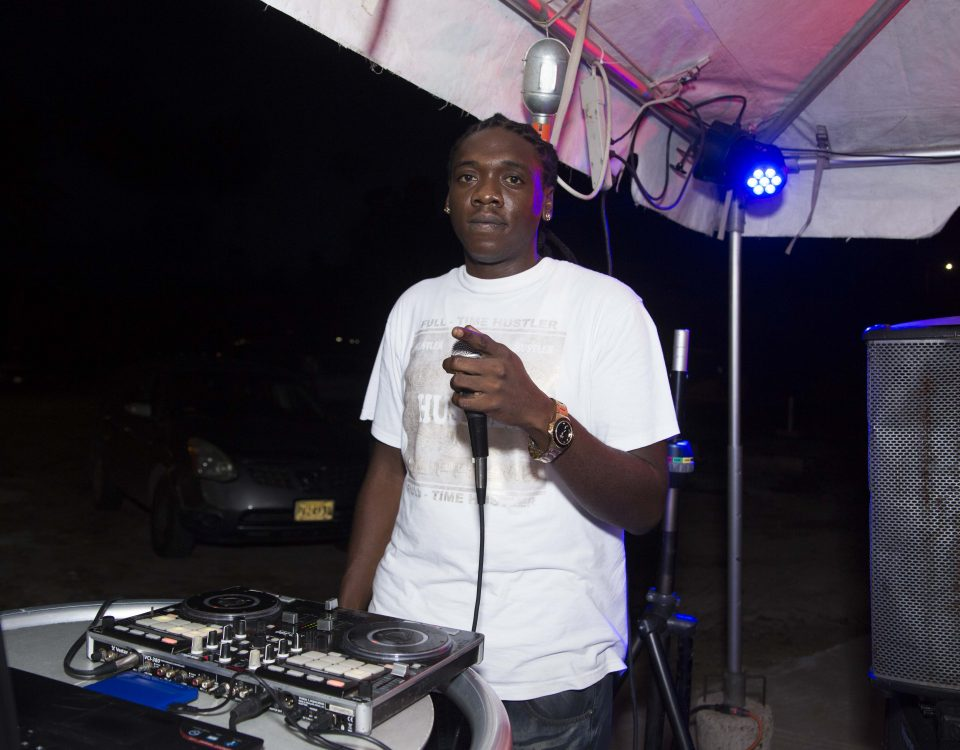 house dj young money soundz at trellis bay market