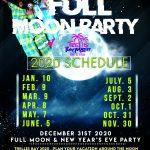 Trellis Bay Full Moon 2020 Schedule Tortola British virgin islands